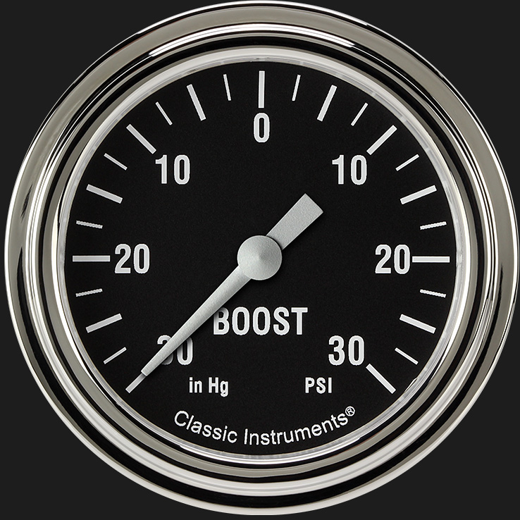 "Picture of Hot Rod 2 5/8"" Boost/Vac Gauge"