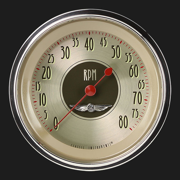 "Picture of All American Nickel 3 3/8"" Tachometer"
