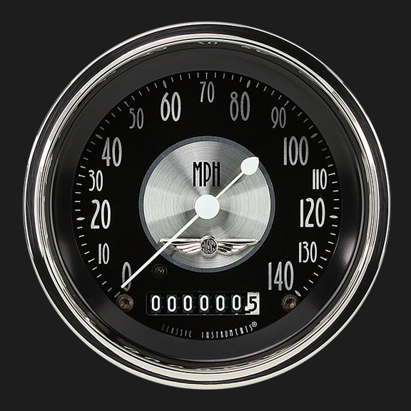 "Picture of All American Tradition 3 3/8"" Speedometer"