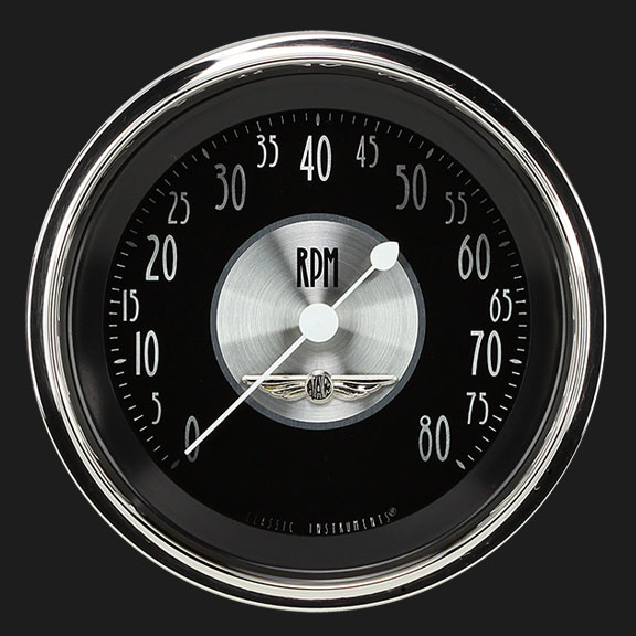 """Picture of All American Tradition 3 3/8"""" Tachometer"""