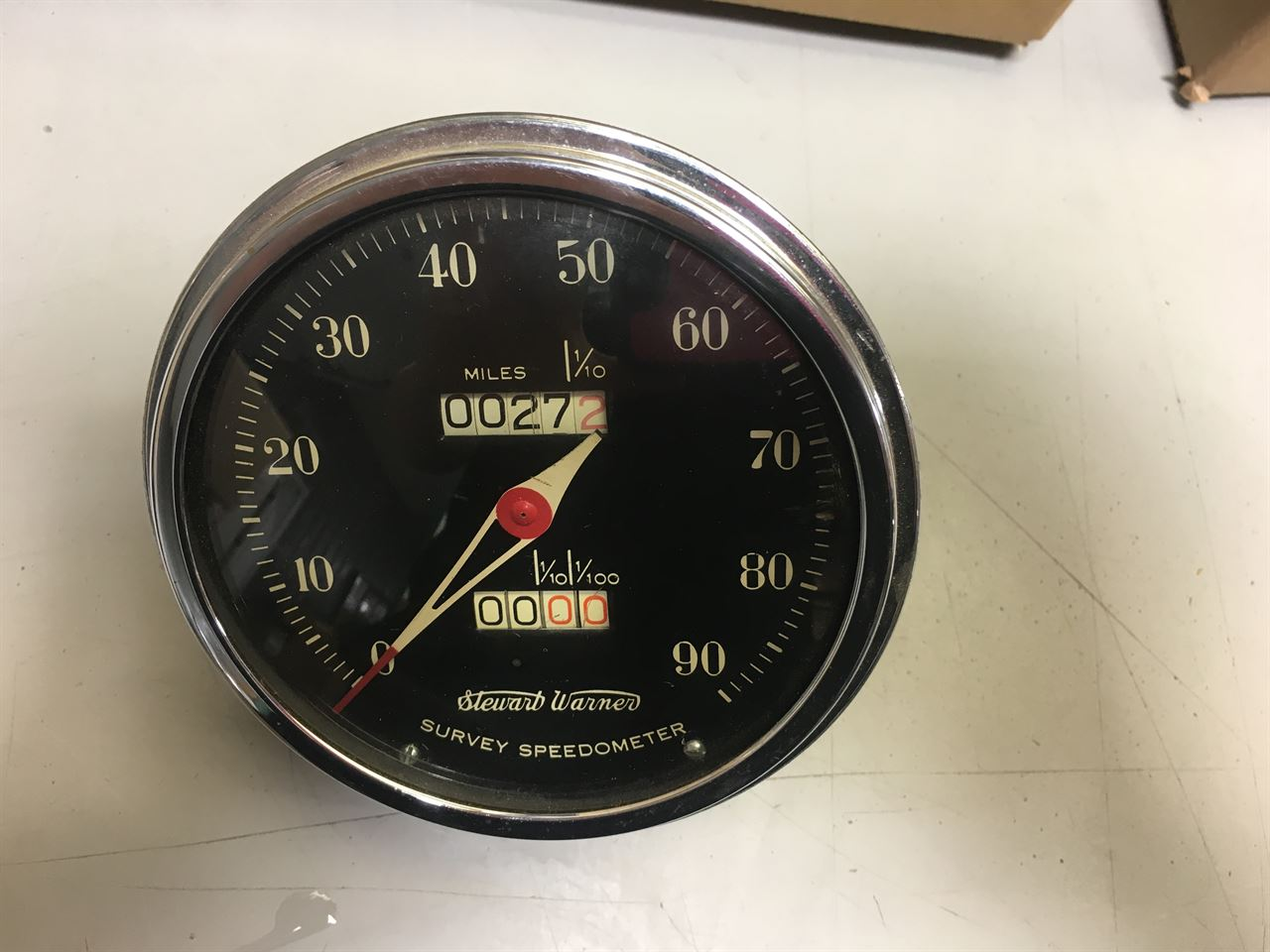 Picture of Stewart Warner Universal Speedometer