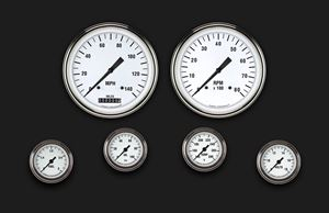 Picture of White Hot Six Gauge Set 151