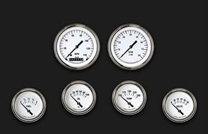 Picture of White Hot Six Gauge Set 201