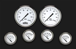 Picture of White Hot Six Gauge Set 251