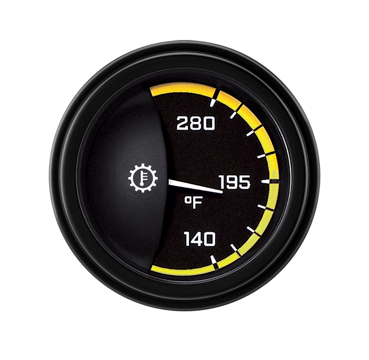 """Picture of AutoCross Yellow 2 1/8"""" Transmission Temp"""