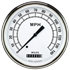 "Picture of Classic White 4 5/8"" Speedometer"