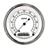 """Picture of Classic White 3 3/8"""" Speedometer"""