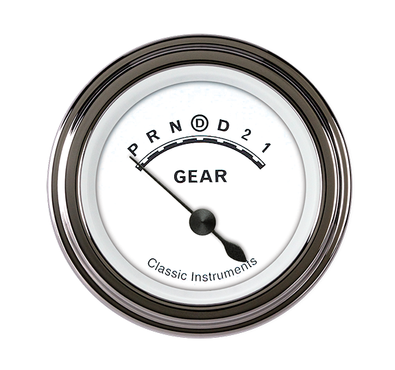 "Picture of Classic White 2 1/8"" Gear Indicator"