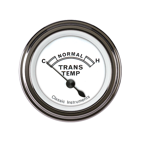 "Picture of Classic White 2 1/8"" Transmission Temp"