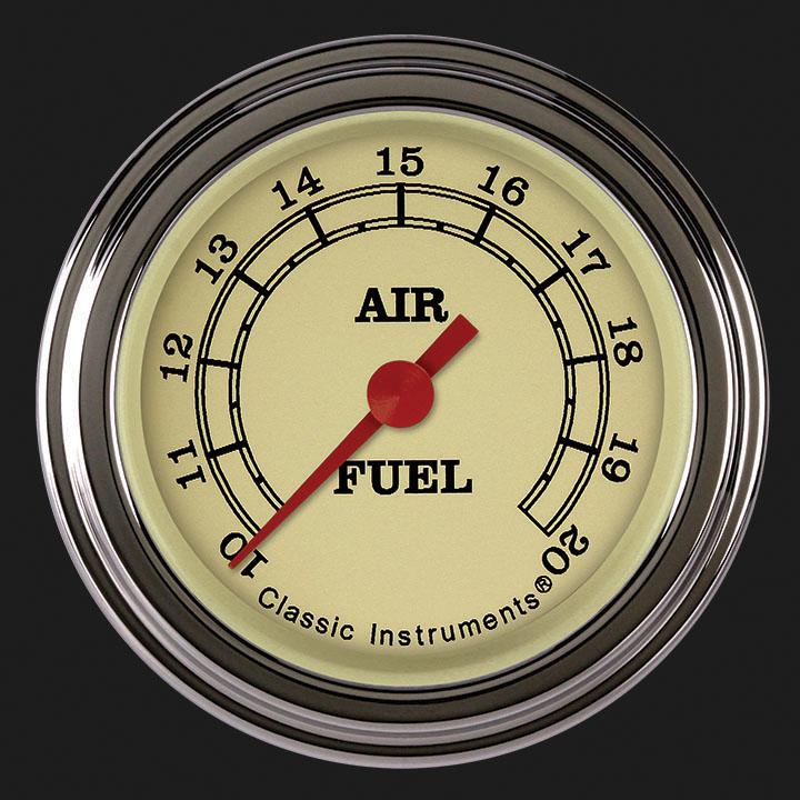 "Picture of Vintage 2 1/8"" Air Fuel Ratio Gauge"