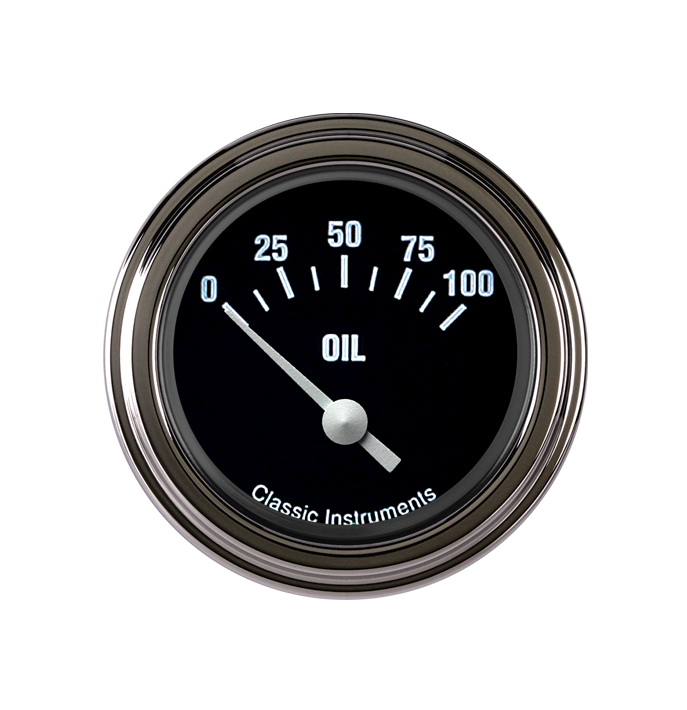 """Picture of Hot Rod 2 1/8"""" Oil Pressure"""