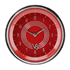 """Picture of V8 Red Steelie 3 3/8"""" Clock"""