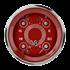 "Picture of V8 Red Steelie 3 3/8"" Quad"