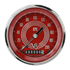 "Picture of V8 Red Steelie 3 3/8"" Speedometer"
