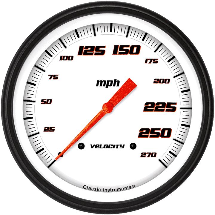 "Picture of Salt Flat Special 4 5/8"" Speedometer"