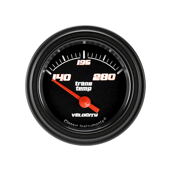 """Picture of Velocity Black 2 1/8"""" Transmission Temp"""