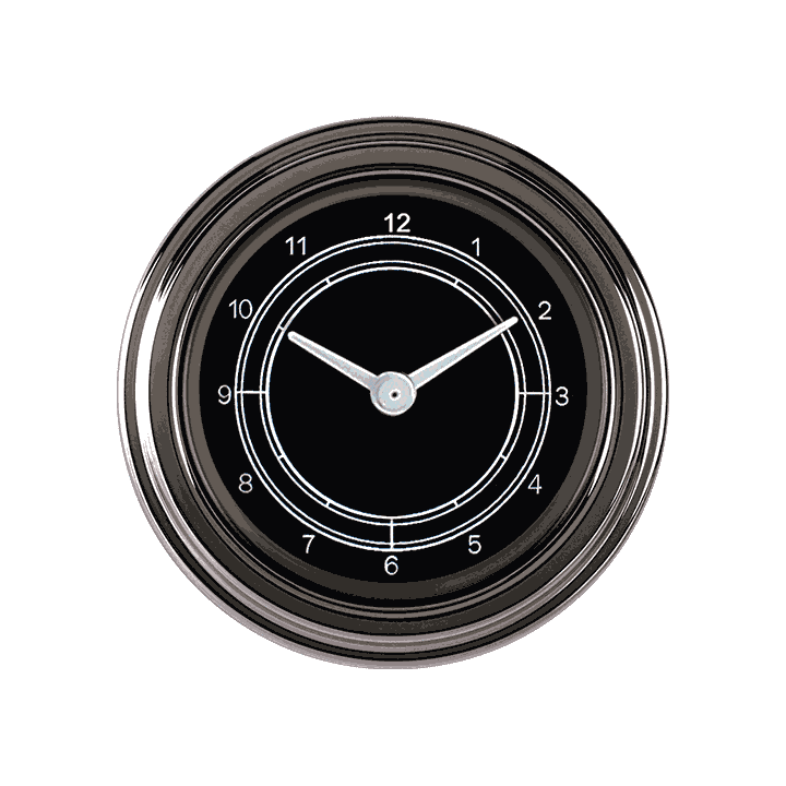 "Picture of Traditional 2 1/8"" Clock"