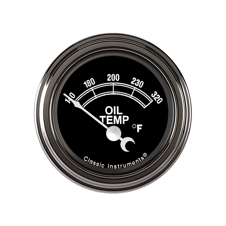 "Picture of Traditional 2 1/8"" Oil Temp"