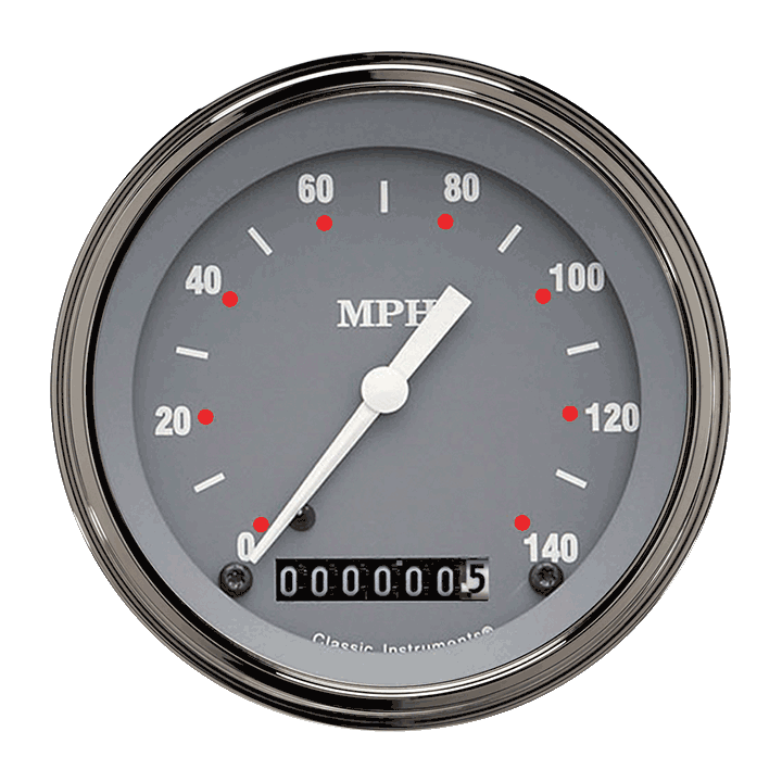 "Picture of SG Series 3 3/8"" Speedometer"
