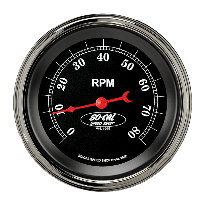 "Picture of So-Cal 3 3/8"" Tachometer"