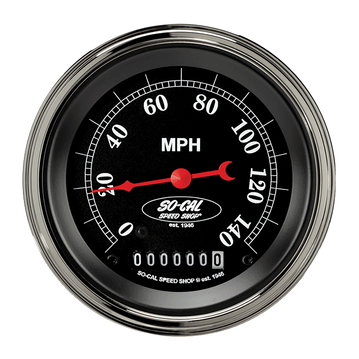 "Picture of So-Cal 3 3/8"" Speedometer"