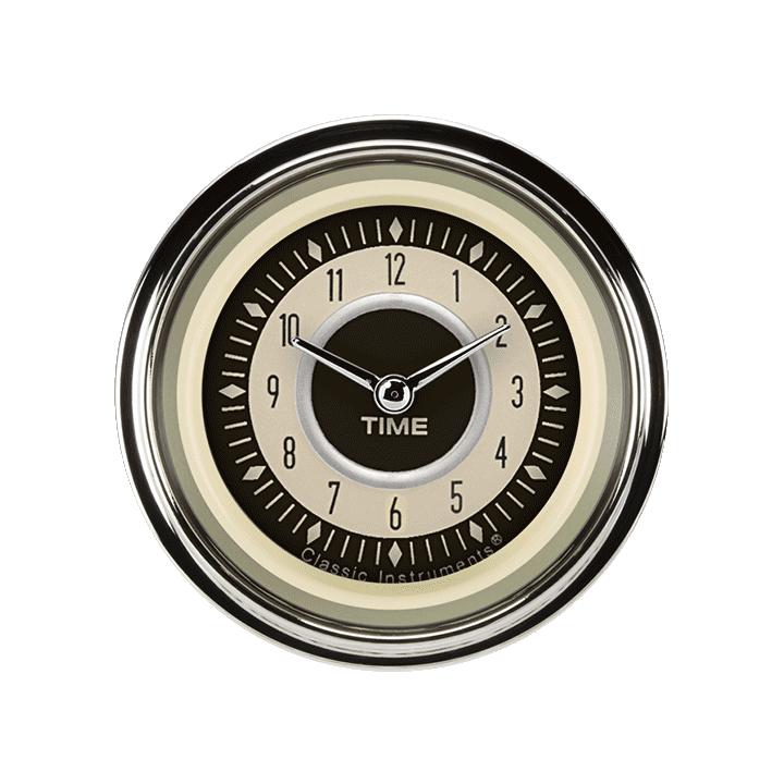 """Picture of Nostalgia VT 2 1/8"""" Clock"""