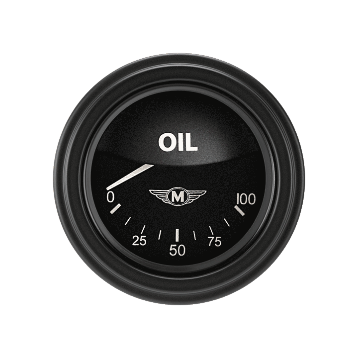"Picture of Moal Bomber 2 1/8"" Oil Pressure"