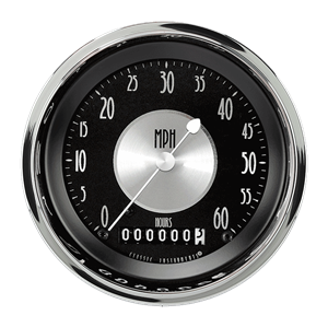 "Picture of All American Trad. 3 3/8"" Low Speed Speedometer"