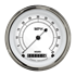 "Picture of Classic White 3 3/8"" Low Speed Speedometer"
