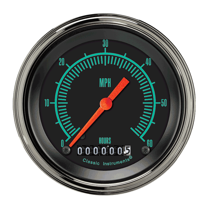 "Picture of G-Stock 3 3/8"" Low Speed Speedometer"