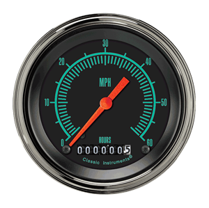 """Picture of G-Stock 3 3/8"""" Low Speed Speedometer"""