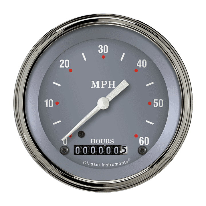 "Picture of SG Series 3 3/8"" Low Speed Speedometer"
