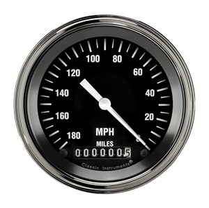 "Picture of Hot Rod 3 3/8"" Speedometer"