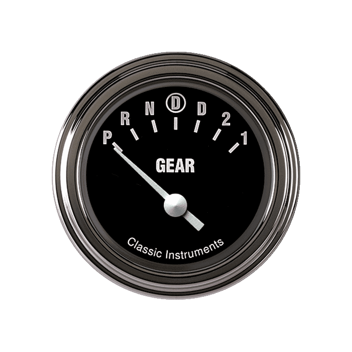 """Picture of Hot Rod 2 1/8"""" Gear Indicator, Overdrive"""