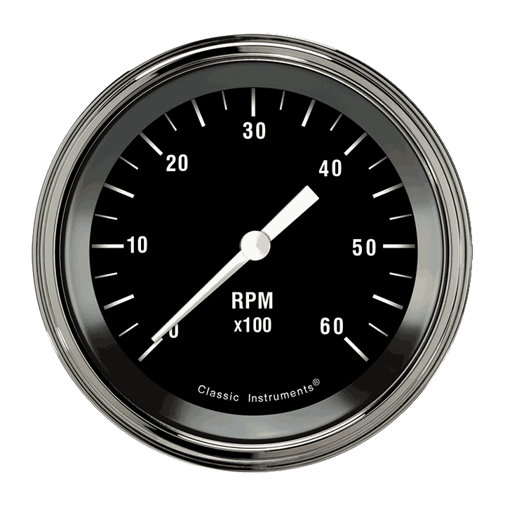 "Picture of Hot Rod 3 3/8"" Tachometer"