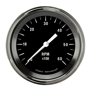 """Picture of Hot Rod 3 3/8"""" Tachometer"""