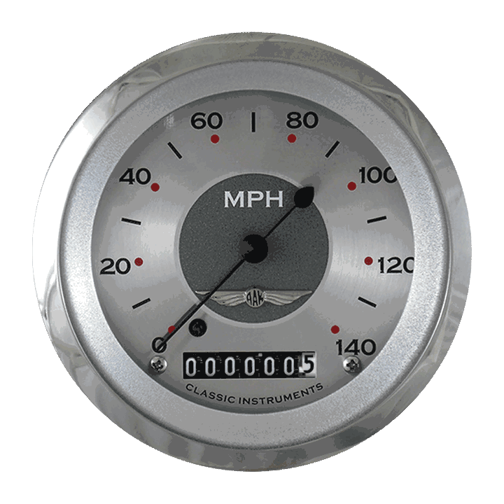 """Picture of All American 3 3/8"""" Speedometer"""
