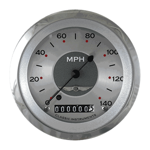 "Picture of All American 3 3/8"" Speedometer"