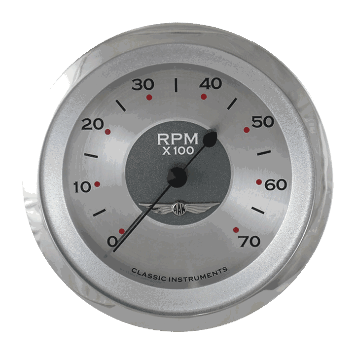 "Picture of All American 3 3/8"" Tachometer"