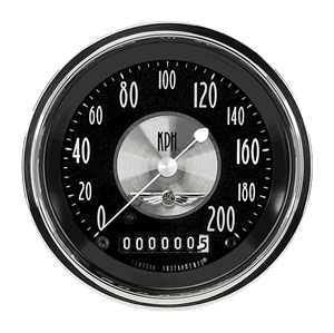"""Picture of All American Tradition 3 3/8"""" Speedometer"""