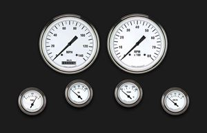 Picture of White Hot Six Gauge Set 51