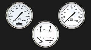 Picture of White Hot Three Gauge Set 53