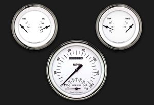 Picture of White Hot Three Gauge Set 61
