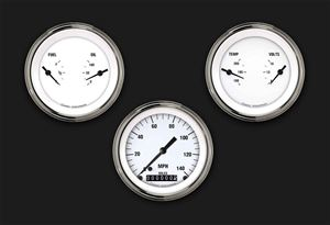 Picture of White Hot Three Gauge Set 04
