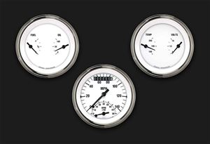 Picture of White Hot Three Gauge Set 34