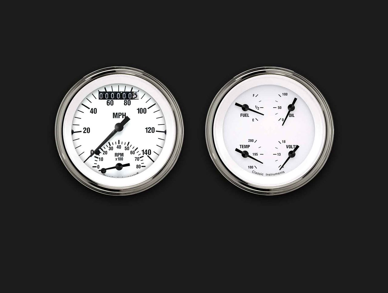 Picture of White Hot Two Gauge Set 32