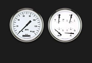 Picture of White Hot Two Gauge Set 52