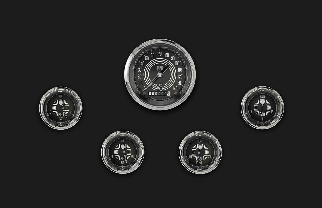 Picture of V8 Speedster Five Gauge Set 00