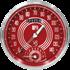 "Picture of V8 Red Steelie 4 5/8"" Speedtachular"