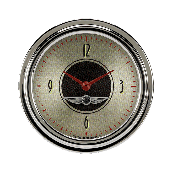 """Picture of All American Nickel 2 5/8"""" Clock"""